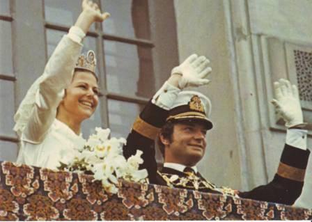 Carlos Gustavo XVI y Silvia 3