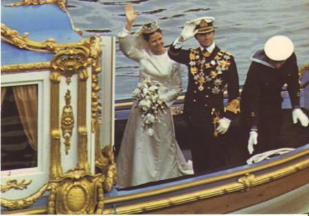 Carlos Gustavo XVI y Silvia 4