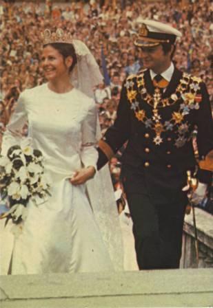 Carlos Gustavo XVI y Silvia 5