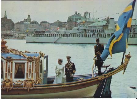 Carlos Gustavo XVI y Silvia 62