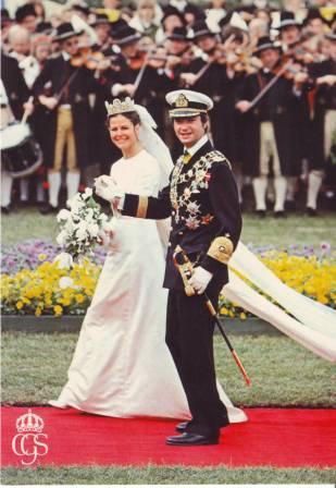Carlos Gustavo XVI y Silvia IMAGE0081